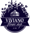 VIVIANO Flower Shop Logo